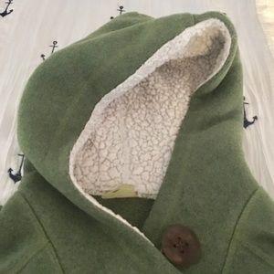 Fleece lined hoodie. Size XS. EUC